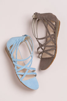 Plus Size - Wide Fit Tewksbury Sandal Flat