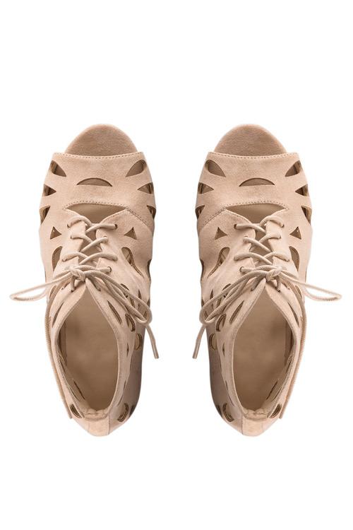 Plus Size - Wide Fit Florence Sandal Heel