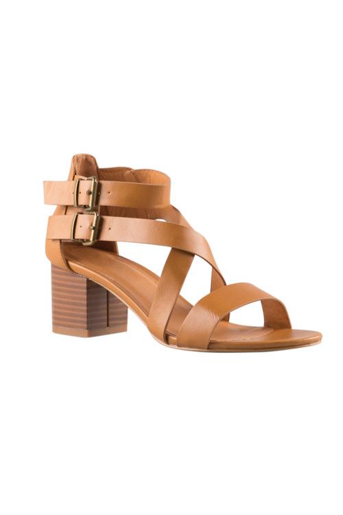 Wide Fit Fernway Sandal Heel