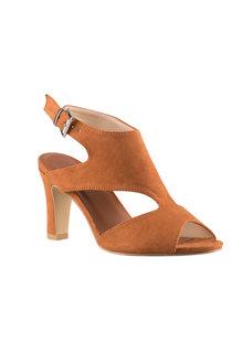 Plus Size - Wide Fit Flossmoor Sandal Heel