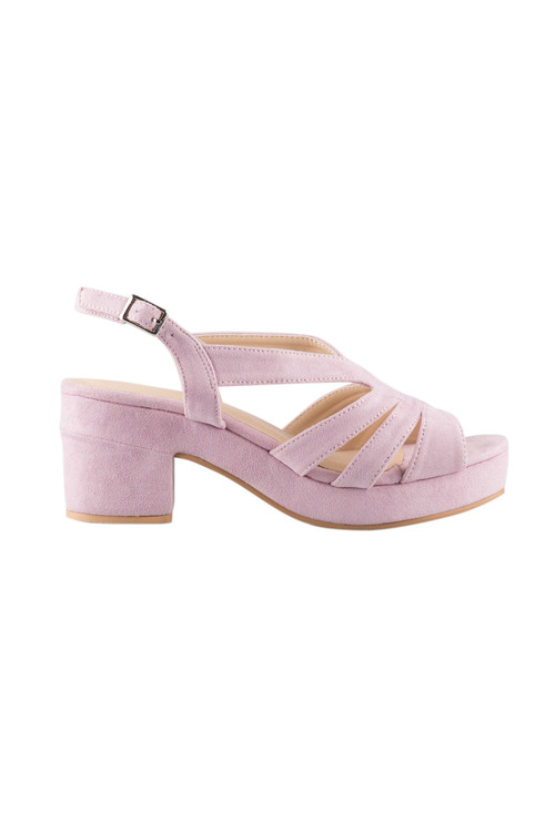 Plus Size - Wide Fit Fostoria Sandal Heel
