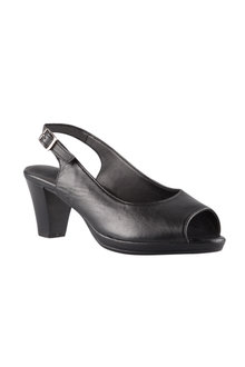 Plus Size - Wide Fit Foley Sandal Heel