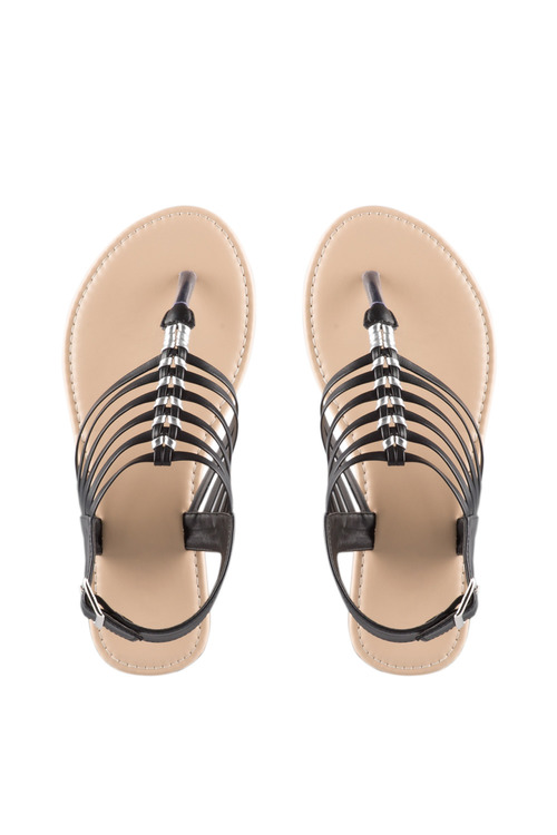 Wide Fit Tiffin Sandal Flat
