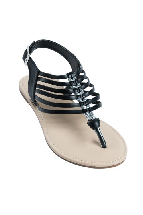 Wide Fit Tiffin Sandal Flat