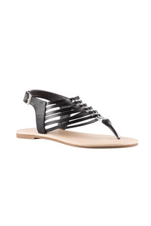 Wide Fit Tiffin Sandal Flat - 223822