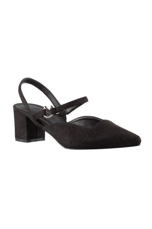 Plus Size - Sara Wide Fit Waldwick Court Heel