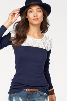 Urban Lace Yoke Top