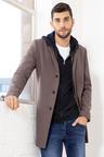 Mens Wool Blend Coat