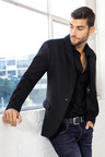 Men's Wool Blend Blazer