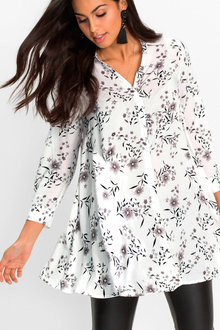Urban Printed Swing Shirt - 223846