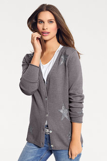 Heine Star Detail Cardigan