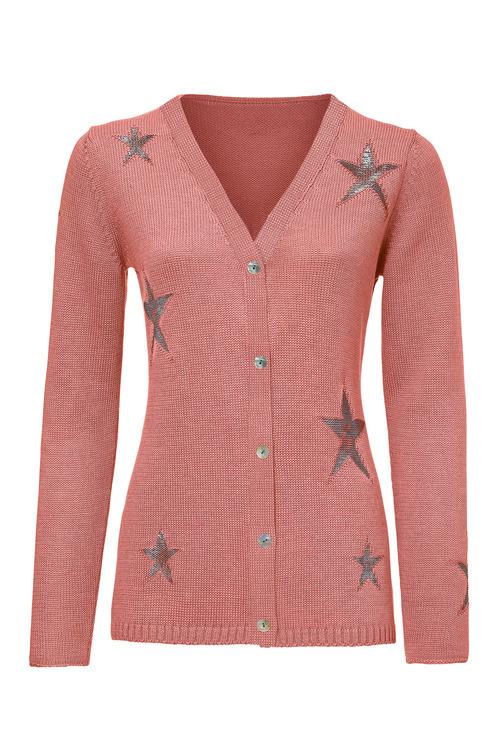 Heine Star Detail Cardigan