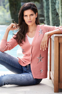 Heine Star Detail Cardigan - 223847