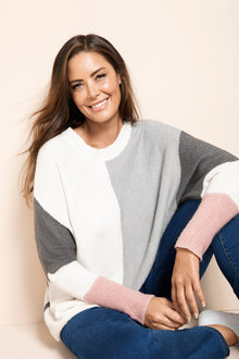 Plus Size - Sara Spliced Jumper