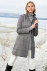 Capture Wool Blend Check Coat
