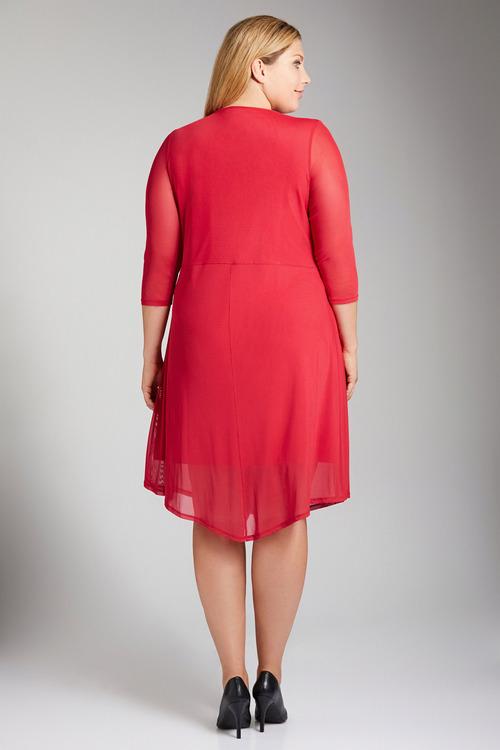 Plus Size - Sara Mesh Dress