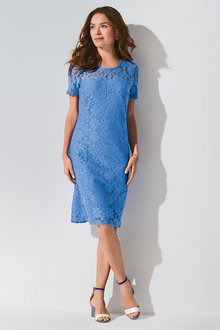 Kaleidoscope Lace Dress - 223875