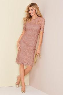 Kaleidoscope Lace Dress - 223877