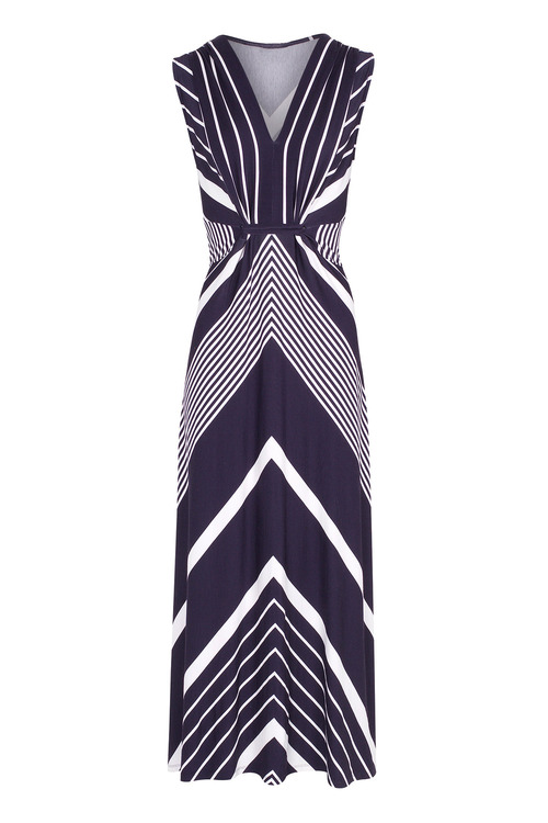 Kaleidoscope Stripe Maxi Dress