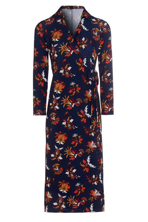 Kaleidoscope Floral Crossover Dress