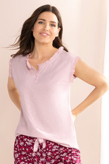 Mia Lucce Sleeveless PJ Top