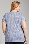 Plus Size - Sara Short Sleeve Scoop Neck Tee