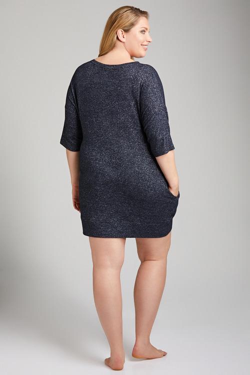 Plus Size - Sara Super Soft Short Sleeve Nightie