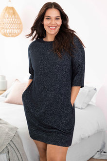 Plus Size - Sara Super Soft Short Sleeve Nightie