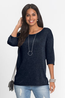 Urban Button Detail Sweater