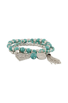 Amber Rose Ventura Multi Strand Stretch Bracelet
