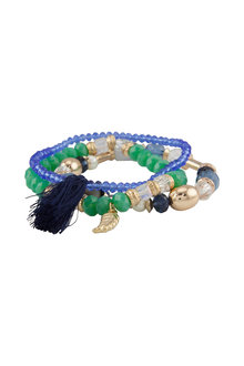 Amber Rose Fiesta Stretch Bracelet Set