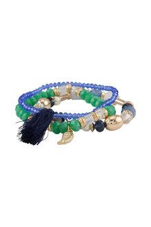 Amber Rose Fiesta Stretch Bracelet Set