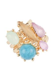 Amber Rose Surfrider Ring Set