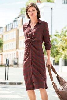 Next CHECK TWIST SHIRT DRESS - 224012