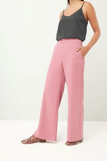 Next ROSE CREPE WIDE LEG TROUSERS - 224171