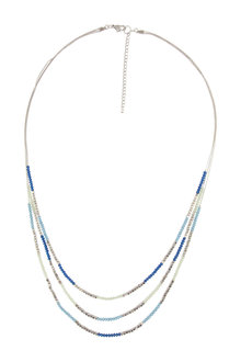 Amber Rose Beachside Bead Layer Necklace - 224185