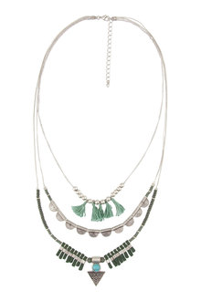 Amber Rose Malibu Multi Strand Necklace - 224211