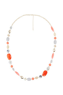 Amber Rose Malibu Rope Necklace - 224213