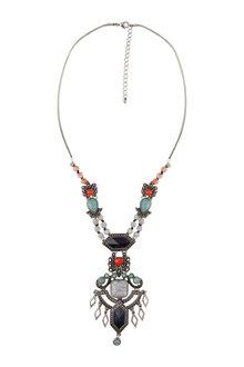 Amber Rose Beach Goddess Necklace