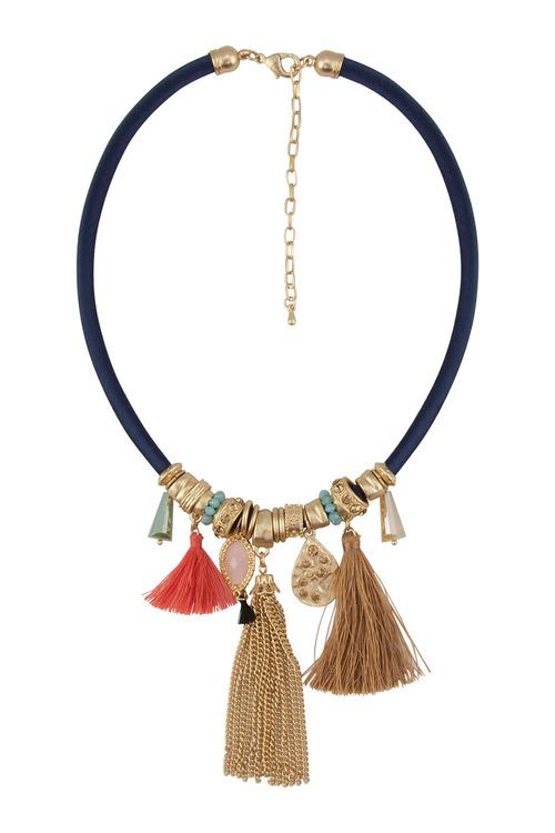 Amber Rose Malibu Charm Short Necklace