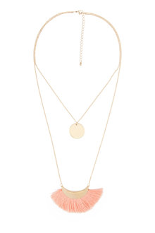 Amber Rose Venice Beach Duo Strand Necklace