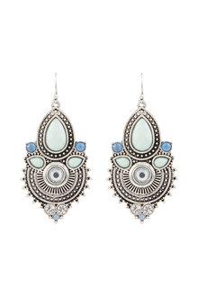 Amber Rose Malibu Stoneset Earrings