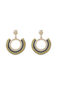 Amber Rose Sunrise Drop Earrings - 224341