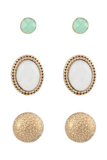 Amber Rose Malibu Earring Set