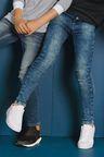 Next Acid Wash Skinny Fit Jeans (5-16yrs)