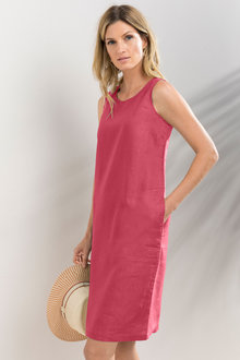 Capture Linen Shift Dress