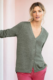 Capture V Neck Cardigan