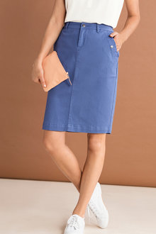 Capture Pocket Detail Skirt - 224506