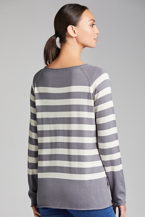 Emerge Stripe Sweater