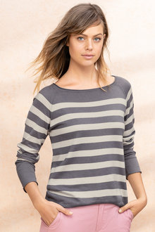 Emerge Stripe Sweater - 224518